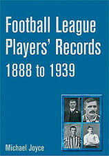 Football League Players' Records 1888 to 1939 - Statistical who's who book