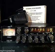 Galaxy DX959 CB Radio AM SSB *PEAK TO LEGAL LIMIT *FREQ ALIGN *ECHO *RX Enchance