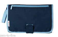 Munchkin Designer Baby Changing Mat BLUE - Great for Traveling