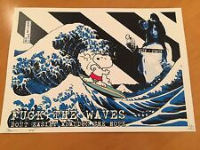 Snoopy Surf print by DEATH NYC Ltd Ed Peanuts Like KAWS Obey Whatson Kunstrasen
