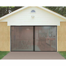 Single Garage Door Screen - New