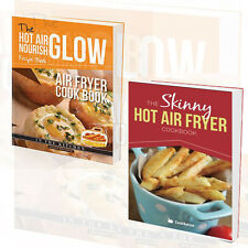 Hot Air Frying Nourish Glow Collection 2 Books Set Skinny Hot Air Fryer, New
