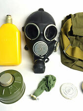 Soviet russian Black rubber Gas mask GP-7V Gp-7 size 3 LARGE