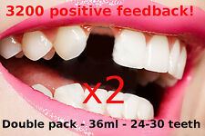 Temporary tooth repair kit, dental fix temp - double qty - 24 teeth- Free video!