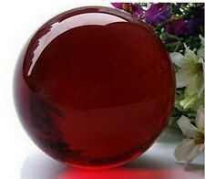 Asian Rare Quartz Red Magic Crystal Healing Ball Sphere 40mm + Stand