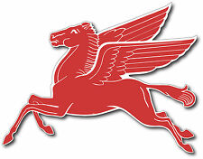 10 INCH SUPER HIGH GLOSS OUTDOOR MOBIL GAS PEGASUS DECAL STICKER