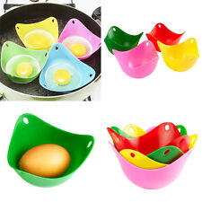 1Pcs Silicone Egg Poacher Cup Poaching Mould Twin Pack Kitchen Cookware Tool