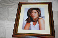 JENNIFER ANISTON AUTOGRAPHED FRAMED PICTURE WITH coa FRIENDS RACHAEL