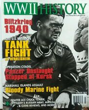 WWII History October August 2015 Blitzkrieg 1940 Tank Fight FREE SHIPPING sb