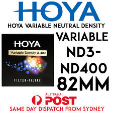 HOYA HMC ND Variable Neutral Density ND3-400 82mm Made in Japan