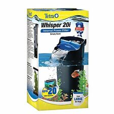 20 Gallon Tank Filter Canister Aqua Water Filtration Fish Turtle Reptile .
