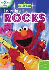 Sesame Street: Learning Rocks DVD BRAND NEW SEALED SHIPS NEXT DAY