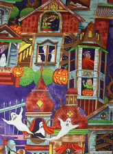 HOUSE OF HAUNTS ALEXANDER HENRY OOP QUILT CRAFT FABRIC SOLD BY FQ FREE OZ POST