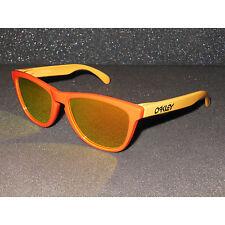 New Oakley Frogskins Sunglasses Hotspot/Fire Iridium Retro Aquatique Edition