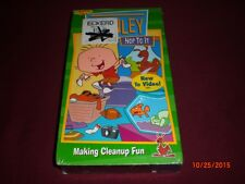 Playhouse Disney Stanley Hop To It Making Cleanup Fun VHS Sealed