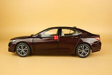 1:18 Acura TLX Die Cast Model DARK RED color