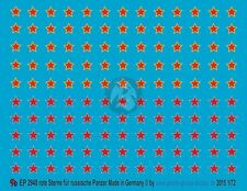 Peddinghaus 1/72 Red Star Markings for Russian Tanks (2 styles) [Decal] 2948