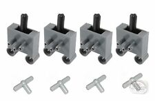 LEGO Pneumatic Switch x 4 + T-Joint x 4 - DBG - New - (Technic, Air, Switch)