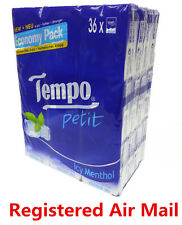 36 packs Icy Mentho Tempo Petit Pocket Tissues Paper 4ply cleaning handkerchiefs