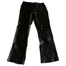 Joseph Leather Trousers Size: IT 42 UK 10 US 6