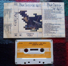 PINK FLOYD The Wall URUGUAY 1st PRESS CASSETTE SONDOR PSYCH PROG Roger Waters*