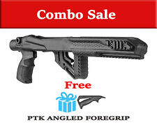 UAS R10/22 PTK Fab Defense Black Tactical STOCK RUGER 1022 w/ FREE Angled Handle