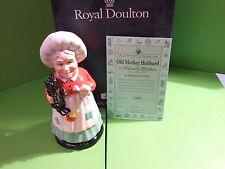 ROYAL DOULTON NURSERY RHYMES OLD MOTHER HUBBARD BOXED & CERT DNR3 LTD ED 1500