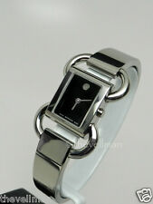 Womens Authentic Swiss Made Movado Linio 0606471 Stainless Bangle Luxury Watch