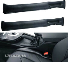 2PCS BLACK LEATHER LUXURY VIP AUTO CAR SEATS GAP FILLER STOP GAP FILLER HOLSTER