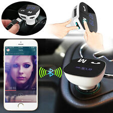 Handsfree MP3 Player FM Transmitter Wireless Bluetooth Car Kit Phone USB Charger