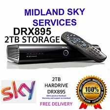 SKY PLUS + HD BOX - DRX895 - 2TB -3D ON DEMAND Power/hdmi/remote Complete