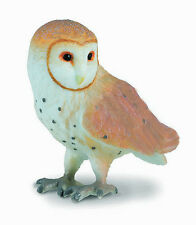 CollectA 88003 Barn Owl Bird of Prey Raptor Figurine Replica Toy - NIP