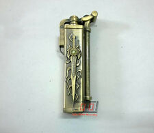 Vintage Collectable Flint Wick Kerosene Pipe Cigarette Lighter Sword Design Rare