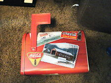COCA-COLA MAILBOX TIN WITH MOVEABLE FLAG, NEW, SODA
