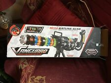 "M134 GATLING TOY GUN RIFLE FIREPOWER WITH LIGHTS AND TRIPOD STAND 21"" LONG NEW B"