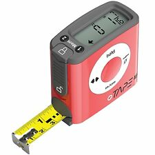 eTape16 | Digital Tape Measure Red Inch 16' Length ET16.75-DB-RP