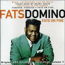 Fats on Fire [Disky] by Fats Domino (Antoine Dominique Domino Jr.) (CD, Apr-1998