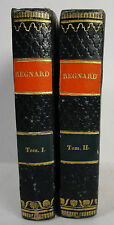 Regnard Chefs-d´oeuvre dramatique 2 Bände 1829