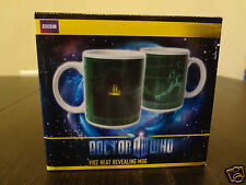 Dr DOCTOR WHO Heat Revealing Coffee Mug Dalek Skeleton Science Fiction BBC NEW