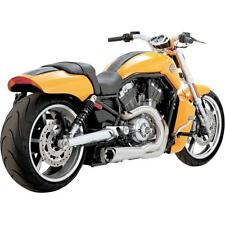 Vance & Hines Exhaust Brushed Aluminum Competition Series V-Rod Muscle  75-116-4