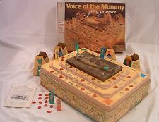 1971 Voice of the Mummy Board Game - Red Precious Jewels - Complete,Working 100%