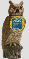"New!! Dalen Gardeneer 18"" SOLAR SOL-R OWL Head Moves Scarecrow Decoy Pest SRHO-4"