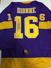 MARCEL DIONNE Los Angeles Kings AUTOGRAPHED Signed XL NEW Hockey Jersey COA