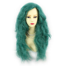 Romantic SEXY Wild Untamed Long Curly Wig Green Ladies Wigs from WIWIGS UK