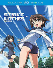 Strike Witches: The Movie (Blu-ray/DVD, 2016, 2-Disc Set)