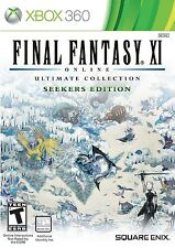 Final Fantasy XI: Ultimate Collection - Seekers Edition [Xbox 360, NTSC, MMORPG]