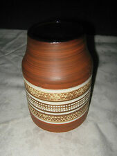A Retro 1970's West German Pottery Sgraffito Styled Vase 145/15