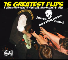 16 GREATEST FLIPS by Jonee Earthquake Band CD Boston Punk Surf Rockabilly