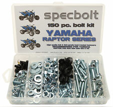 150pc YAMAHA RAPTOR ATV Bolt Kit 700 660 600 350 250 125 Plastic Exhaust Wheels