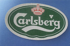 Beer Coaster - Carlsberg Danish Beer - Copenhagen Denmark Lot of 2